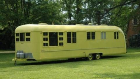 This Caravan Was Abandoned For Over 60 Years... What They Found Inside Left Them Speechless