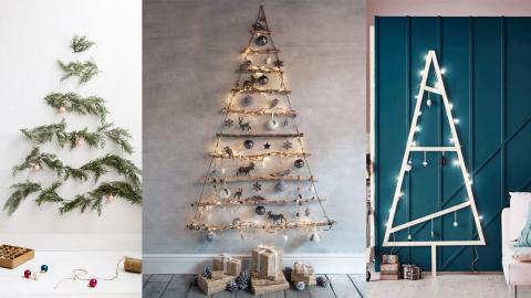 13 Creative Alternatives To A Traditional Christmas Tree