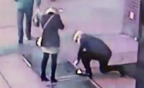 Couple Drop Ring Down The Drain During Nightmare Proposal In NYC