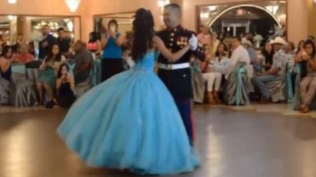 A Soldier Opened The Ball With His Daughter, But No One Was Expecting This!