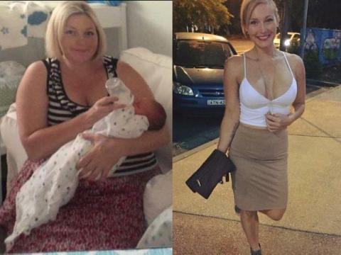 Her Transformation Is To Die For After Giving Up This One Particular Beverage