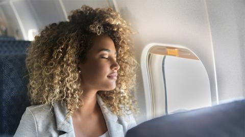 This Woman Fell Asleep Mid-Flight... And Woke Up To A Terrifying Discovery