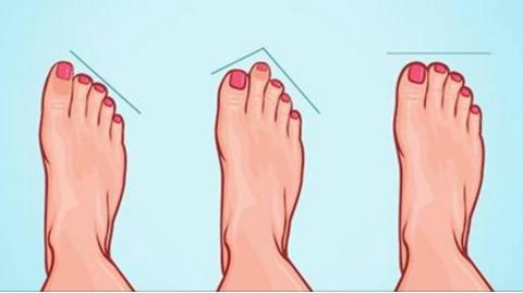 This Is What The Shape Of Your Feet Says About Your Personality