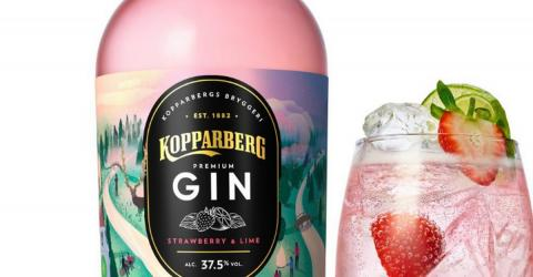Kopparberg Are Now Doing Pink Strawberry And Lime Flavour Gin