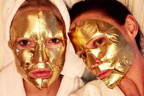 Here's A New Kind Of Luxury: A Face Mask Made of 24 Karat Gold