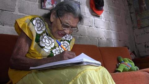 At The Age Of 96, This Woman's Dream Of Going To Secondary School Finally Became A Reality