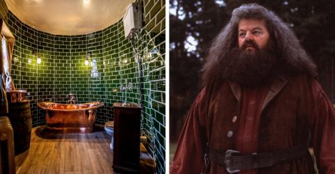 You Can Now Stay In A Real Life Hagrid's Hut