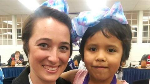 This Teacher Copied Her Student's Hairstyle For The Most Beautiful Reason