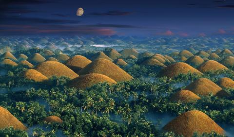 These Are The Amazing 'Chocolate Hills' In The Heart Of The Philippines