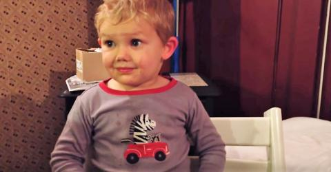 This Little Boy Has The Funniest Reaction To His Parents' Big News...