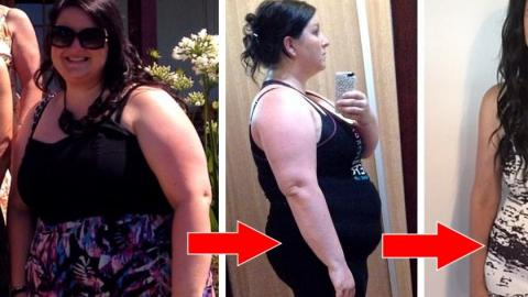 After Losing 9 Stone In A Year, She's Totally Unrecognisable