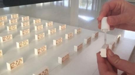 She Didn't Want To Throw Away Her Son's Lego - So She Did Something Incredible With It