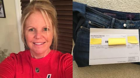 This Woman Made A Gross Discovery In The Pocket Of Her Brand New Jeans (WATCH)