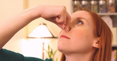 Follow This Simple Tip And You'll Never Suffer From A Blocked Nose Again