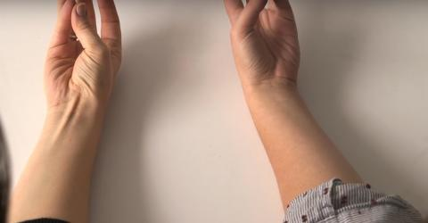 This Is Why Some People Can See This Tendon In Their Arm And Others Can't