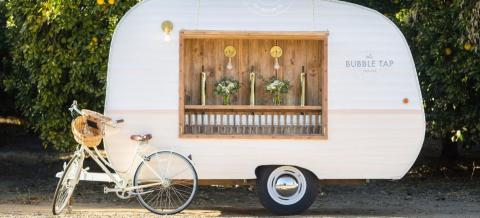 This Prosecco Trailer Is Exactly What Everyone Needs