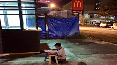 This Picture Of This Young Boy Went Viral - And Changed His Life Forever