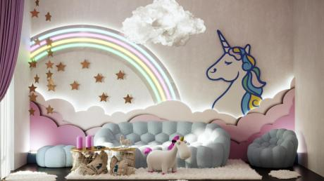 This Unicorn House In Milan Is Every (Big) Kid's Dream