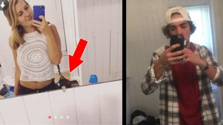 He Was Talking To A Girl On Tinder When He Noticed Something Bizarre In Her Profile Picture