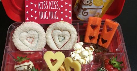She Created This Valentine's Lunchbox For Her Son... But People Spotted One Bizarre Detail