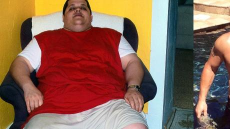 After eating 15,000 calories a day his life has been changed forever