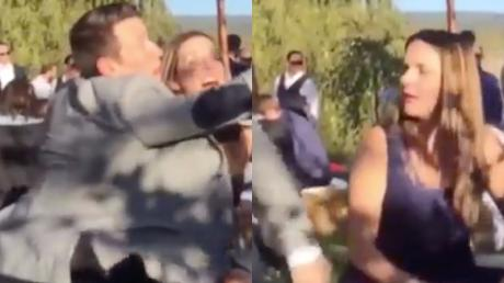 After His Girlfriend Caught The Bouquet, This Man Did Something Awful