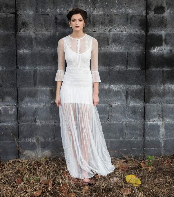 Civil Wedding Dresses. Marvelous Knit In A New Life With Informal ...
