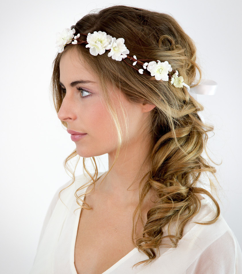 Wedding hairstyles for medium length hair junglespirit Image collections