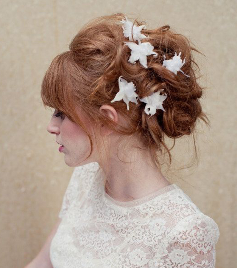 20 Up Do Wedding Hairstyles For Your Big Romantic Day