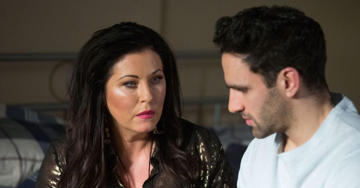 EastEnders Fans In Hysterics Over Huge Error In Kat And Kush's Love Scene