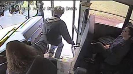 This Bus Driver Saved A Young Boy's Life With Her Incredible Actions
