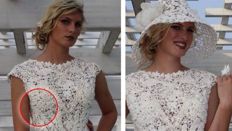 One Weird Detail About These Wedding Dresses Is Driving The