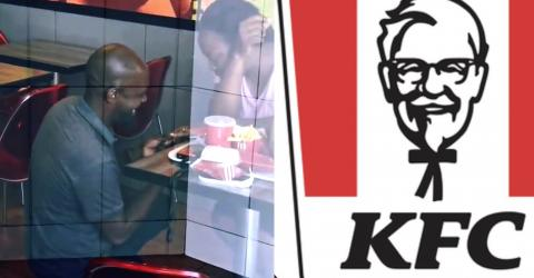 He Proposed In KFC, What She Did Is Unbelievable