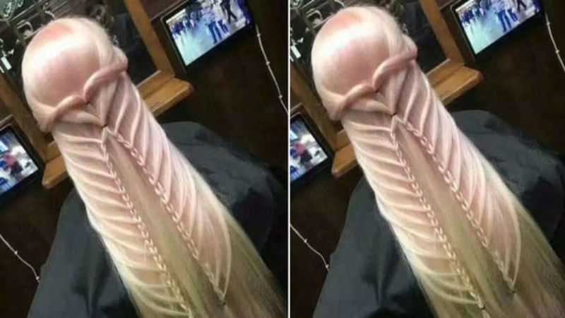 Proud of her hairstyle, she shared a photo on Twitter and became the laughing stock of the internet!