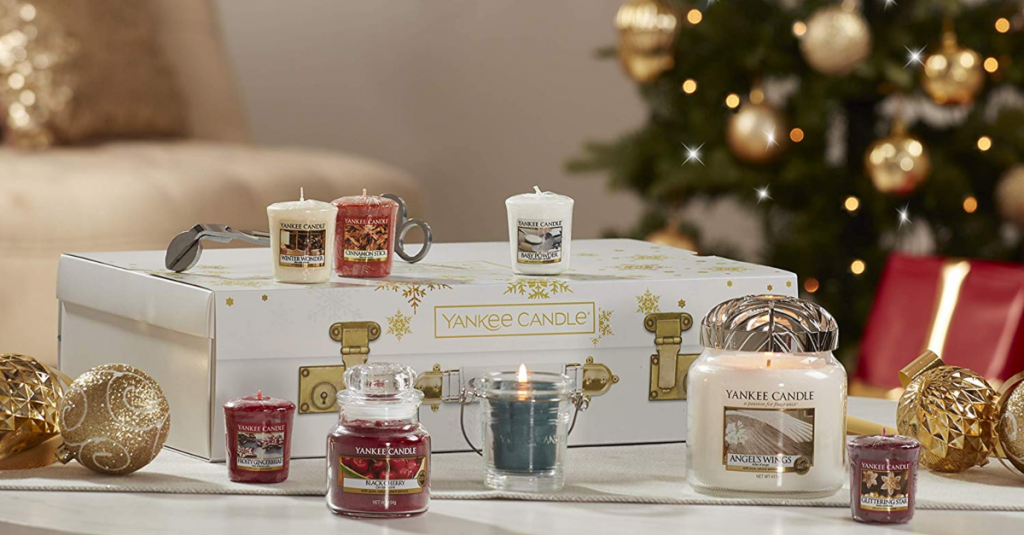 Trying To Think Of Holiday Gift Ideas? Check Out This Christmas Candle Set On Sale For Amazon's Black Friday Week