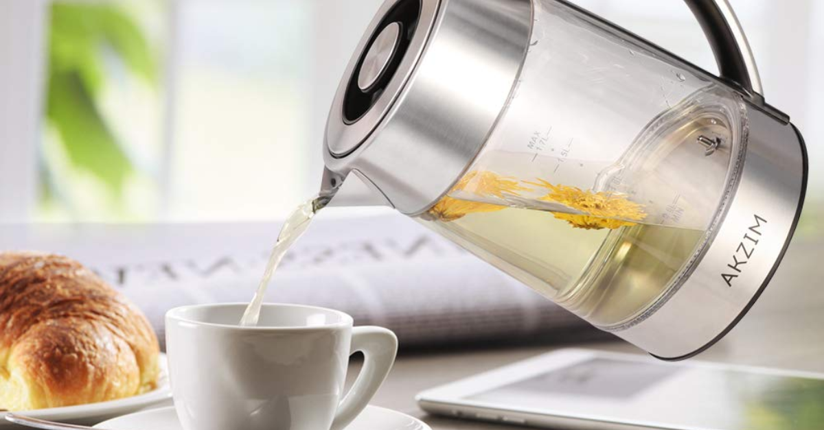 Black Friday On Amazon: 24% Off Deeplee's Glass Electric Kettle