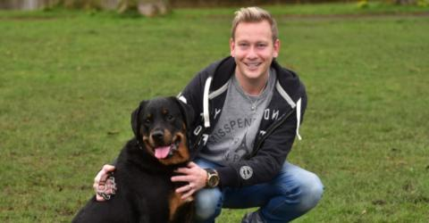 Man Suddenly Experienced Internal Bleeding, Then His Dog Did Something Amazing!