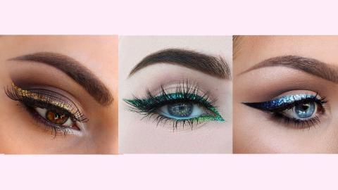 10 Gorgeous Ways To Do Glitter Eyeliner