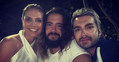 Heidi Klum Honeymoons With New Husband - And His Twin Brother