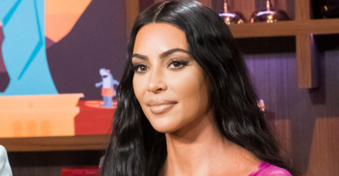 Kim Kardashian Poses In A Swimsuit With All Four Of Her Children - And It's Adorable