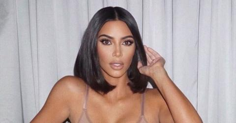 Kim Kardashian Shows Some Skin While Out On The Town In New York City