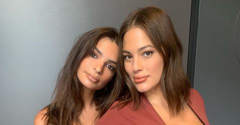 Emily Ratajkowski And Ashley Graham Posed Together In Two Very Tight Outfits