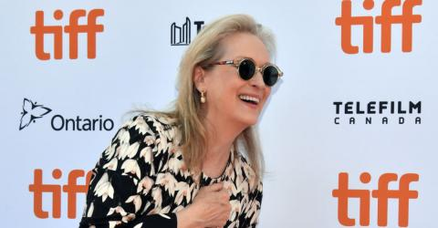 A Scene From Meryl Streep's New Film Is Receiving Criticism
