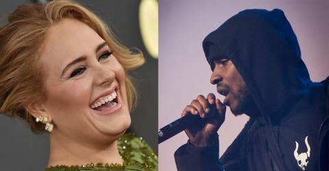 'Rumour Has It' Artists Adele And Skepta Could Be Dating