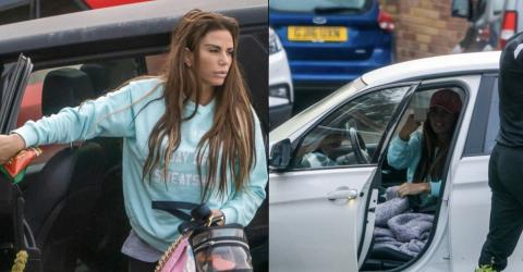 Katie Price Spends The Night With Her Ex And Leaves Her Current Boyfriend At Home