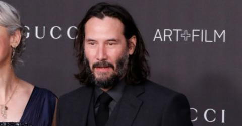 Keanu Reeves Reveals His Fiancée For The First Time (PHOTO)
