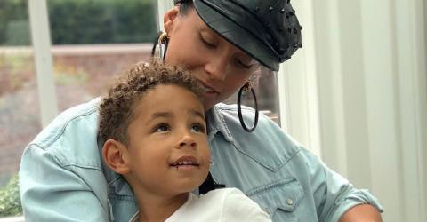 This Was Alicia Keys' Message To Her Son Who Wanted Rainbow Painted Nails
