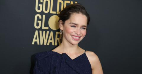 Emilia Clarke Was Looking Radiant In A Rather Unusual Outfit