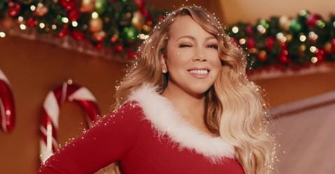 Mariah Carey Releases Brand New Version Of All I Want For Christmas Is You