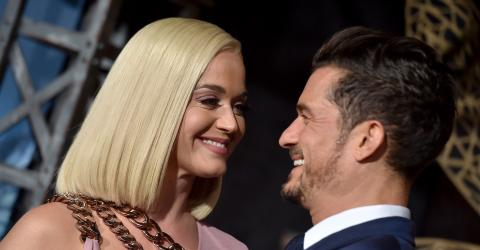 Katy Perry And Orlando Bloom Celebrated Their 1-Year Engagement With An Extraordinary Party
